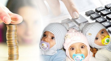 Родители троих детей могут рассчитывать материальную поддержку от государства
